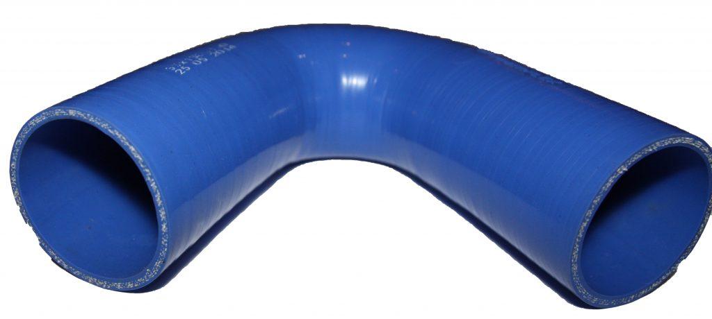 Kolano silikonowe o kącie prostym do intercoolera