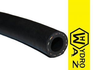 Wąż do oleju gumowy z oplotem tekstylnym, odporny na ciśnienie do 10 Bar, 1Mpa