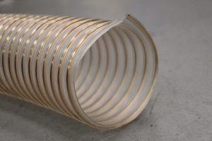 Wąż poliuretanowy AIRDUC 350 AS trudnopalny, trudnościeralny