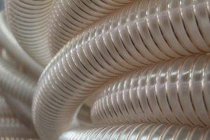 Wąż poliuretanowy ssawno tłoczny do powietrze, gazów, materiałów sypkich i ciernych, uniepalniony